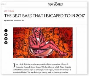 New Yorker Magazine article 201712