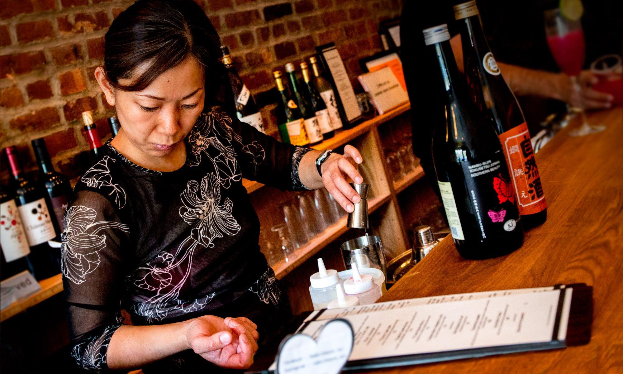 owner chef Yoshiko Sakuma