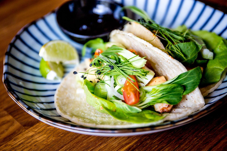 tapas tako taco plate
