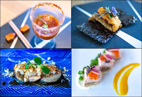 six course omakase